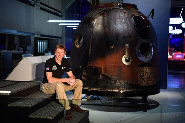 Tim-Peake-spacecraft-science-museum