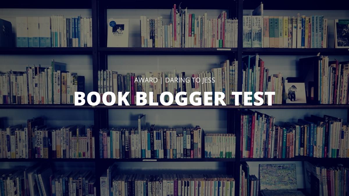 Book Blogger Test