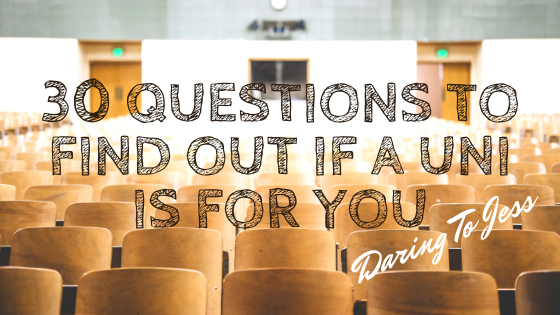 30 Questions to Ask University Students to Figure Out if a University or Course is for You