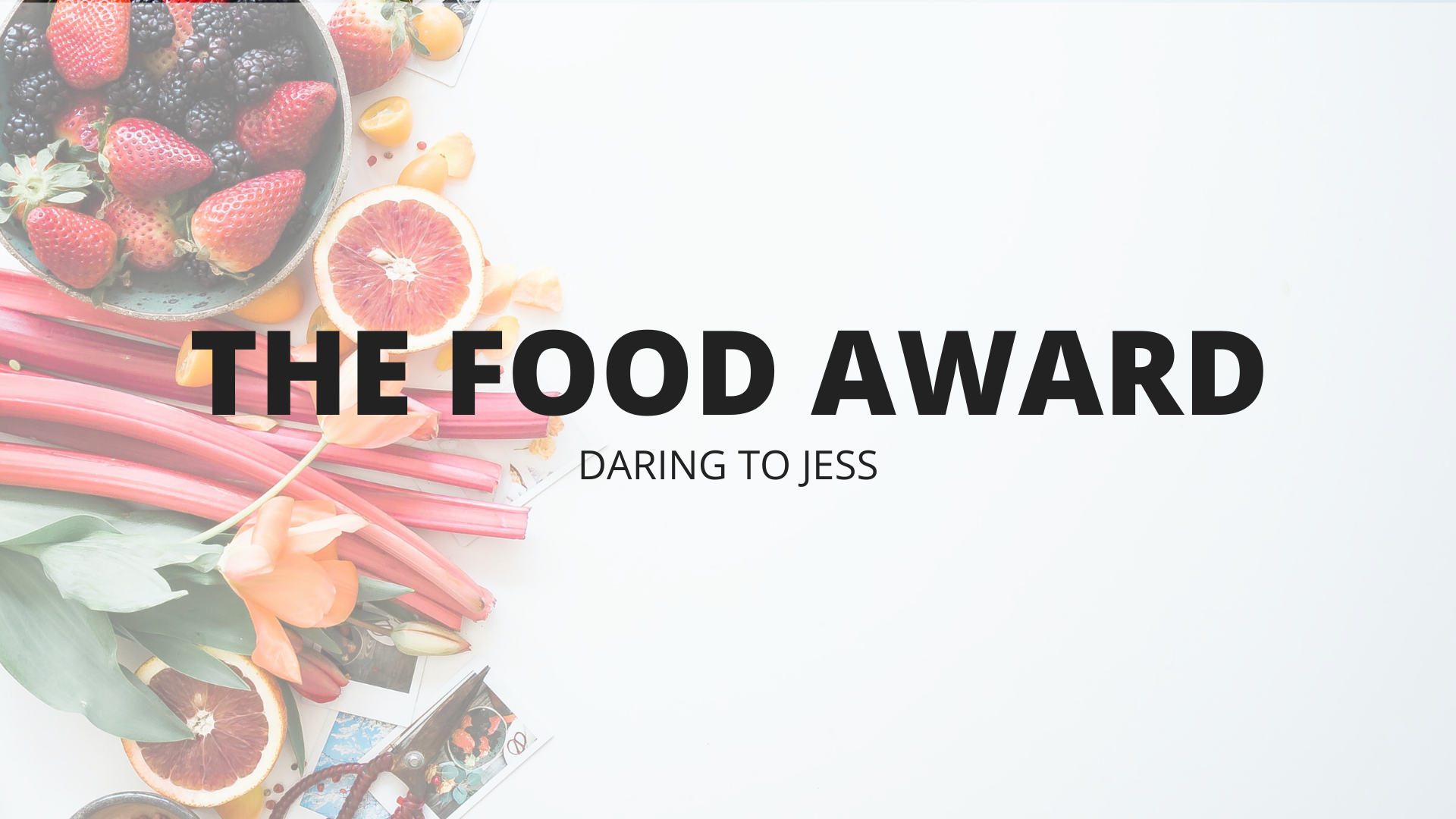 The Food Award